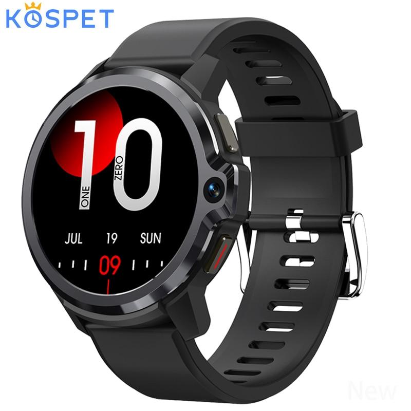 Promo Kospet Prime S 4G Smart Watch Men Business Sport Smartwatch Quad Core Dual Chip Dual Mode Android 9.1 5+8MP Dual Camera GPS WIFI