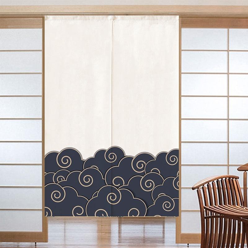 ستارة باب يابانية ، غرفة نوم ، مطبخ ، حمام ، نصف ستارة ، حاجز منزلي ، فنغ شوي