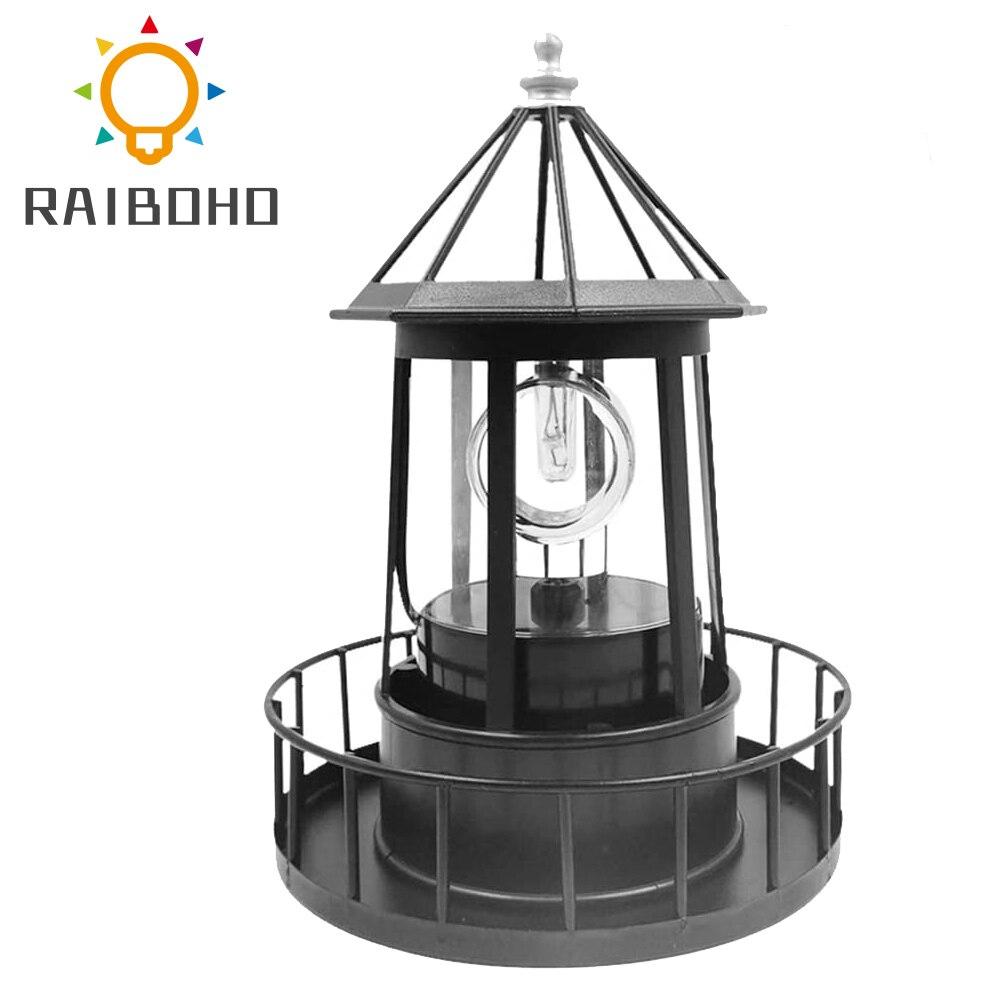 LED الدورية ضوء المنارة الشمسية مصابيح حديقة تزيين الحديقة في الهواء الطلق فانوس ل مسار فناء حديقة فناء