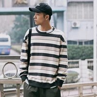 casual loose sweatshirt japanese streetwear fashion harajuku tracksuit crewneck sweatshirt ropa hombre mens clothing db60wy