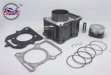 Zongshen Shineray Bashan Taotao – Kit de joint de Piston cylindre 63.5mm, 200CC, pour Dirt Bike, atv Quad