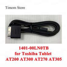 Кабель для зарядки и передачи данных Toshiba AT200 AT300 AT270 AT305, 100% оригинальный