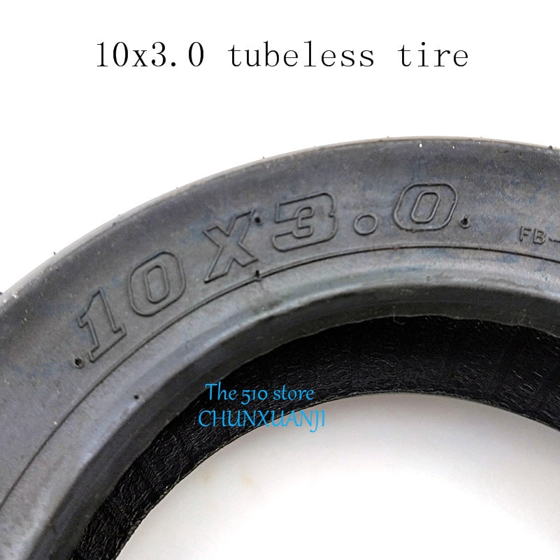 Lightning доставка 10 дюймов 10x3.0wheel tire электрический скутер балансировка tubless вакуумные шины