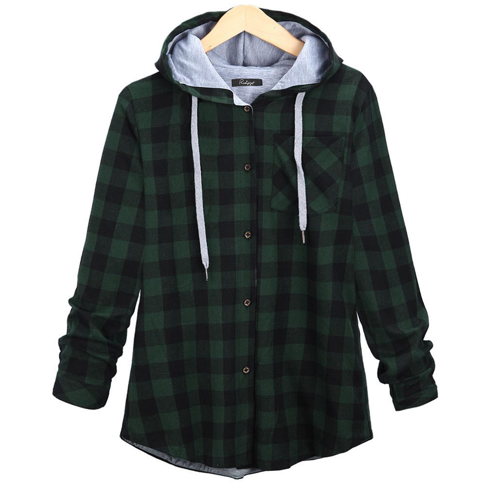 Осень 2021, Женское пальто в клетку, Женские клетчатые бандажные куртки с длинным рукавом, повседневные топы, верхняя одежда, Куртка, Женская