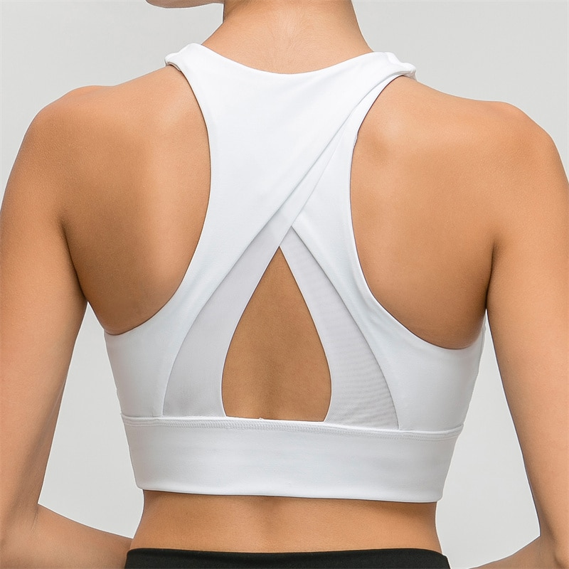 Nepoagym-حمالة صدر رياضية LUCKY XS إلى XL للنساء ، رياضية ، تمرين الضغط ، لياقة بدنية ، فائقة النعومة ، قمة قصيرة ، لياقة بدنية