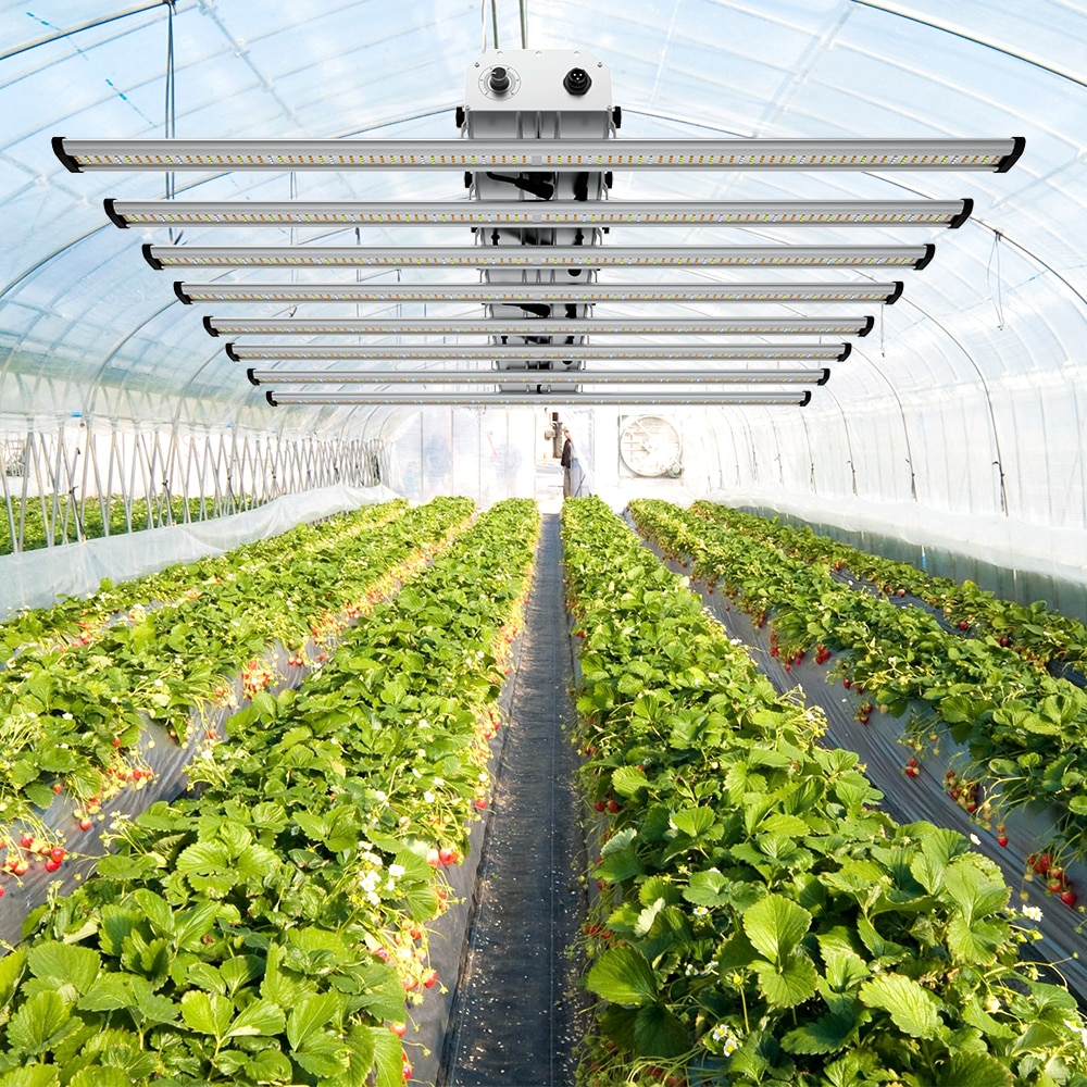 Phlizon Groeilamp 640 Watt Full Spectrum LED Grow Light Bar For Indoor Plant