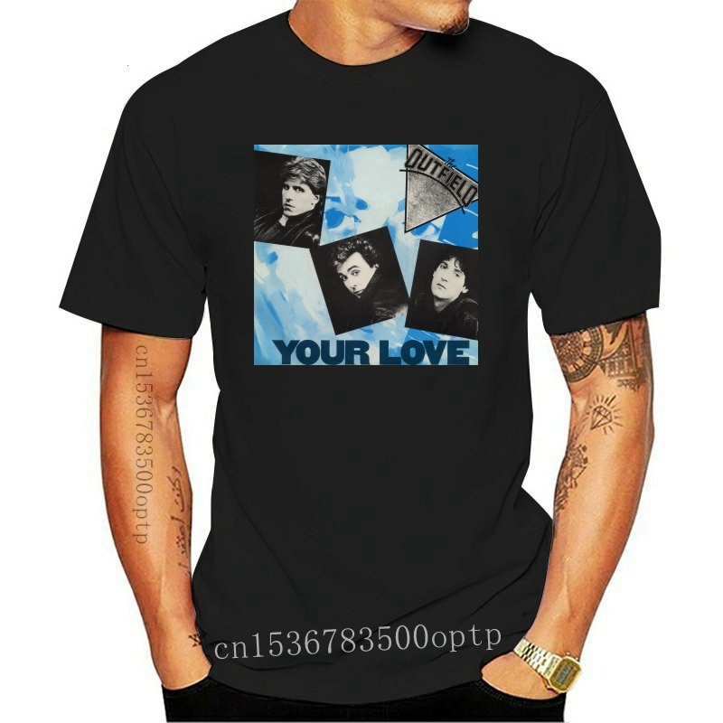 New Mens The Outfield Band Music Your Love Tour 2021 100% Cotton T Shirt Tee Slogans Customized Tee Shirt