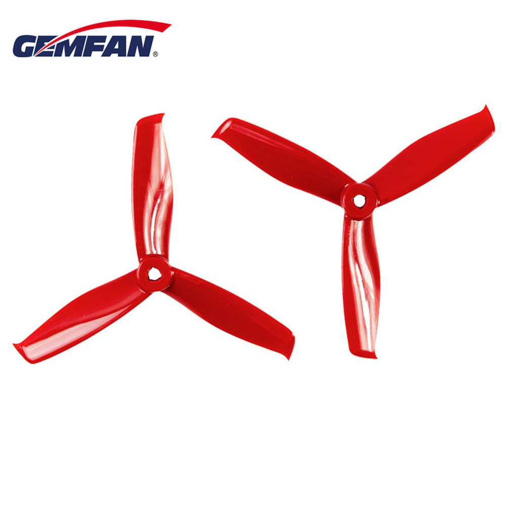 Gemfan Hulkie 5055S 5055 5 Inch 3-Blade Propeller 2 CW & 2 CCW for POPO System RC Drone FPV Racing