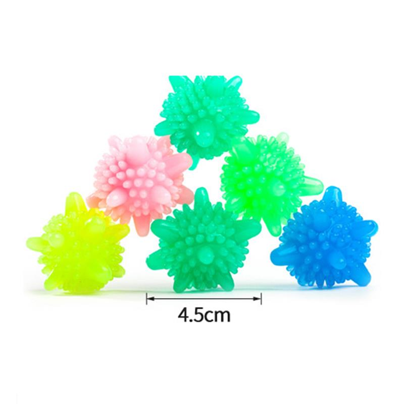 5pcs/lot Magic Laundry Ball for Household Cleaning Washing Machine Clothes Softener Starfish Shape PVC Solid Cleaning Balls