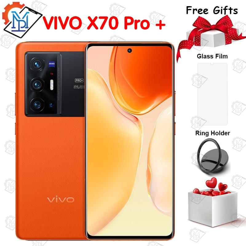 "New Arrival Original Vivo X70 Pro+ Plus 5G Mobile Phone 6.78"" 120Hz AMOLED Screen Snapdragon 888 Plus IP68 Dust/Water Smartphone"