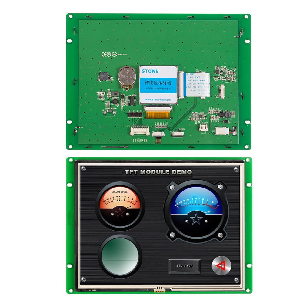 8 بوصة المسلسل لوحة ال سي دي وحدة مع لوحة تحكم + برنامج + شاشة تعمل باللمس للاستخدام الصناعي