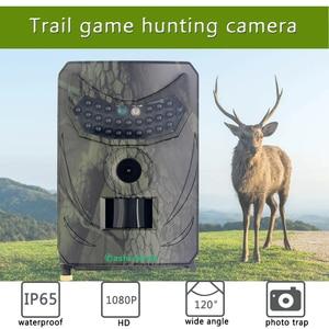 Fast Trigger Wildlife Camera Full HD 1080P Hunting Camera 120 Degree PIR 110 Animal Observation Recorder Cam PR100C Night Vision