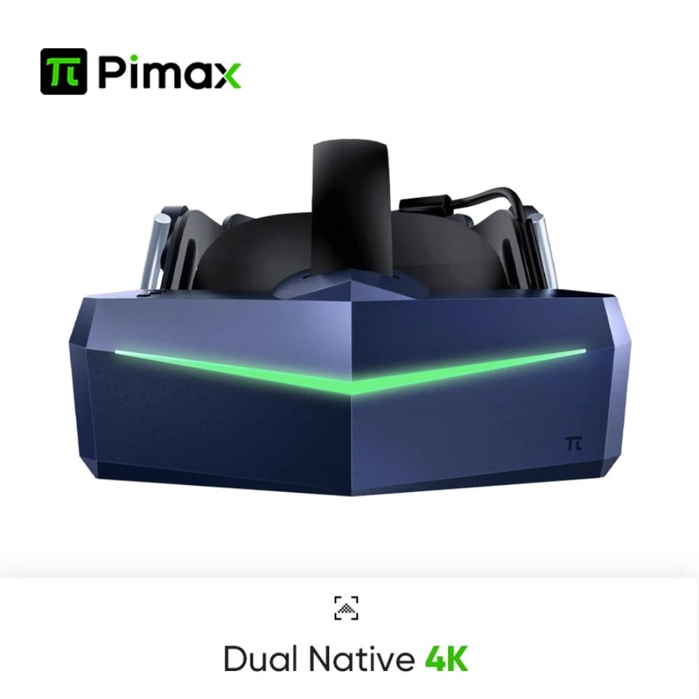 بيماكس فيجن 8KX سماعات VR نظارة الواقع الافتراضي ثلاثية الأبعاد خوذة لأجهزة الكمبيوتر HD 7680*2160 تدعم ستيفر كوة هوم