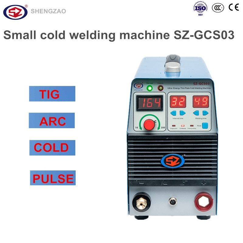 Cold Welding Machine Stainless Steel Industry Laser Welding Pulse Mold Repair Multifunctional Tig/Argon Arc Welder for battery steel pulse steel pulse victims