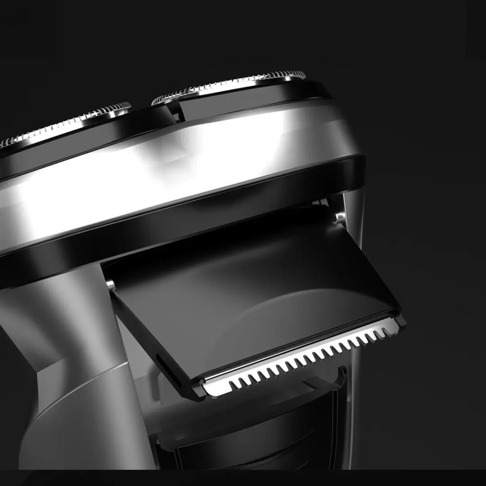 Orignal Enchen Blackstone Electric Shavers Shaving Machine Beard Razors 3D Temple Hair Trimmer Rechargeable For Men's Face enlarge