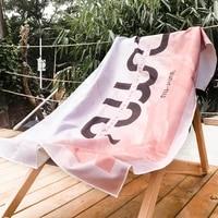 nu june beach towel microfiber bath towel printed for adult reactived surfing swim beach towel drying toalla bathroom 16075cm
