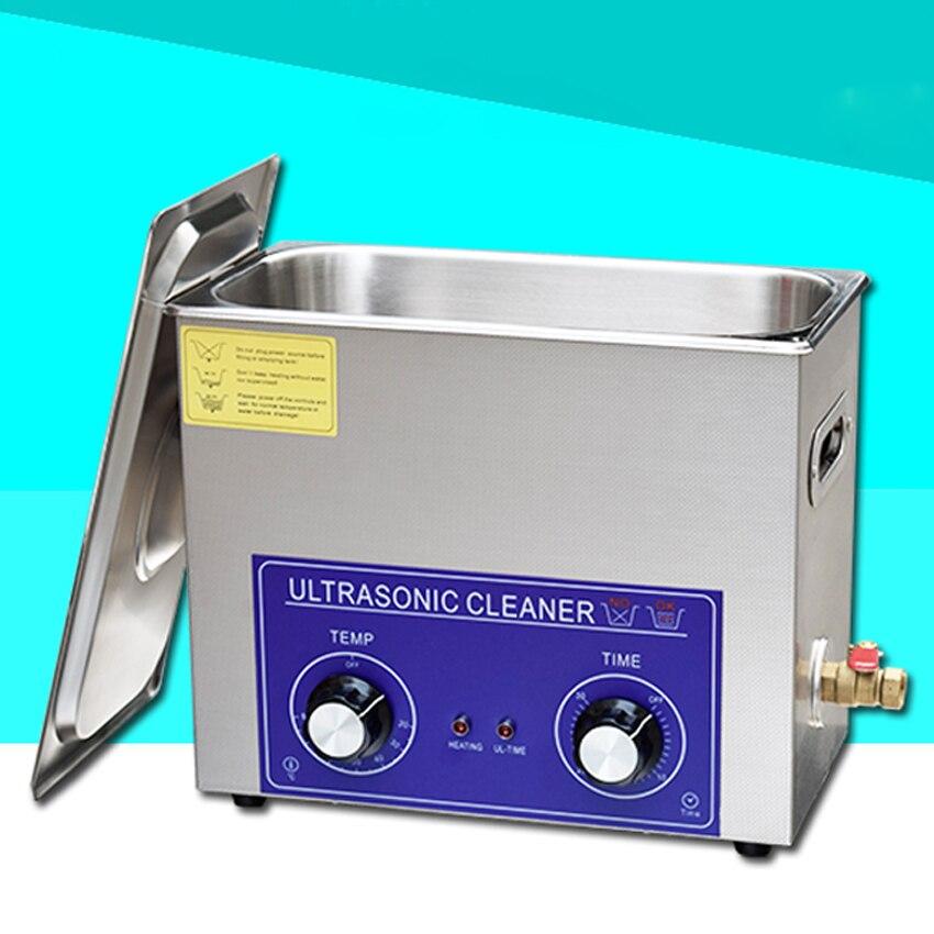 1pc jeken PS-30 180 w 6l ultra-sônico mais limpo com cesta de limpeza livre para placa-mãe & limpeza da placa de vídeo