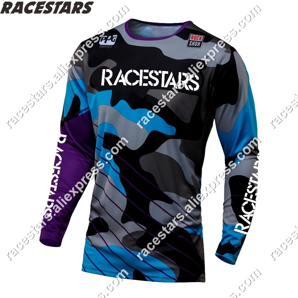 Camisetas de Enduro para moto de carreras, ropa de equipo dh, para...