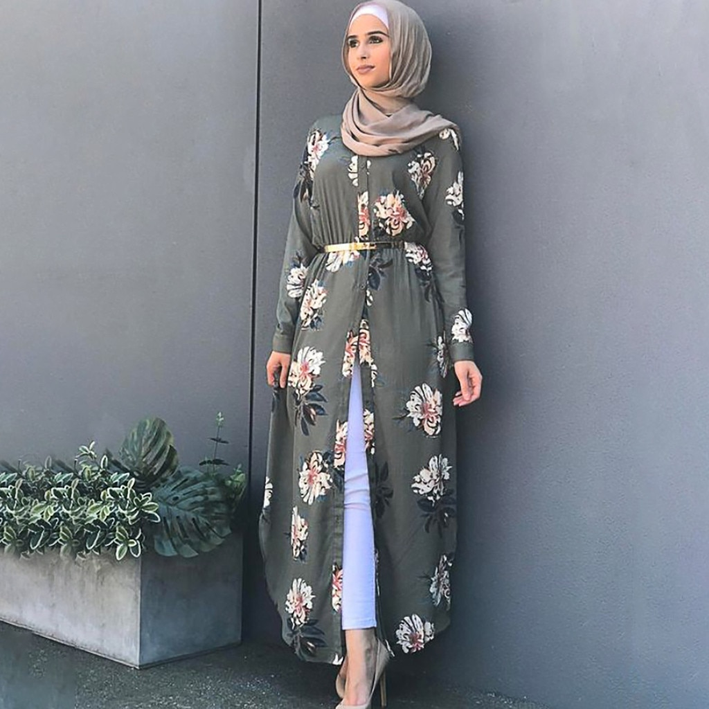 Dubaï turc musulman Hijab Robe marocain Caftan Caftan islamique vêtements pour femmes robes Robe Islam Ropa Arabe Mujer # G7