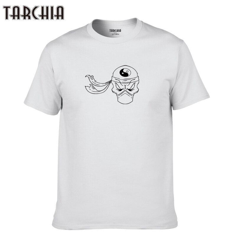 TARCHIA 2019 nueva Camiseta de algodón tops tee hombres pato Ninja divertido tai chi marca de manga corta Niño casual moda homme camiseta de t plus
