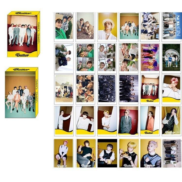 kpop exo s new album obsession peripheral small card lomo card random card x exo park chanyeol chen suho card on sale KPOP Bangtan Boys New Album New Butter Same Type Boxed LOMO Card Random Card Small Card Peripheral