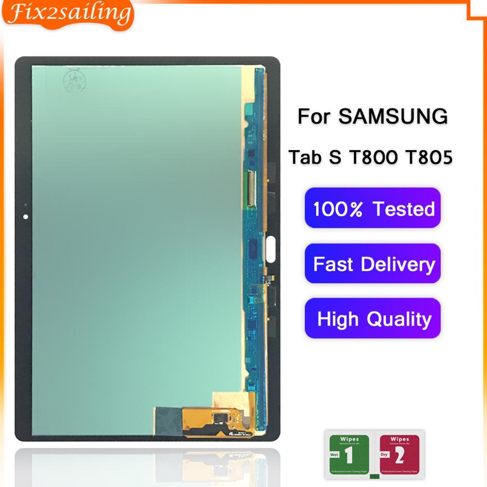 Bloc écran tactile LCD, pour Samsung Galaxy Tab S T800 T805 T800 T805 SM-T800 SM-T805 T807