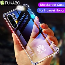 Luxury SiliconeShockproof Case For Huawei P40 P30 P20 P10 Pro Lite Mate Honor 30 20 10 10i 9 NOVA