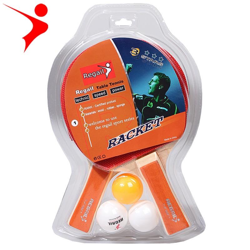 Regal orijinal masa tenisi raketi A508 masa tenisi seti masa tenisi raketi uygulama raketi