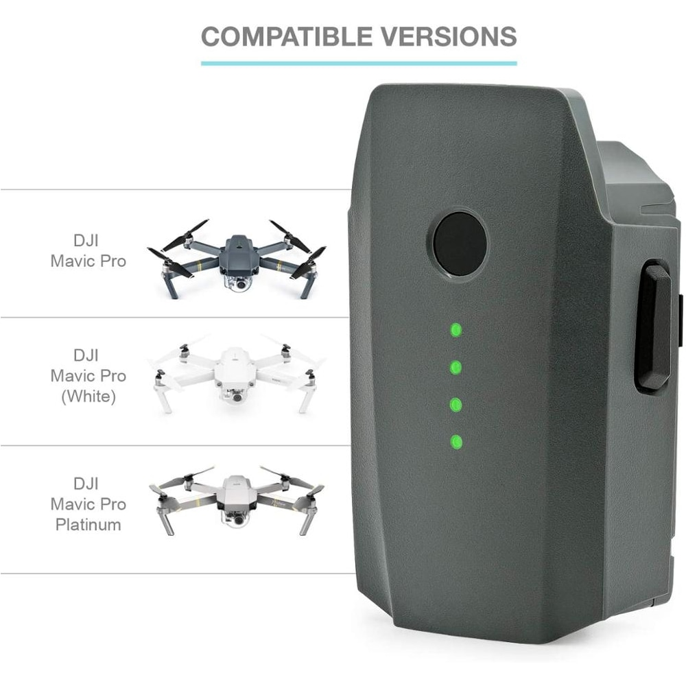 للبيع بالجملة بطارية DJI Mavic Pro رحلة ذكية (3830mAh/11.4V) مصممة خصيصًا للطائرة بدون طيار Mavic جديدة
