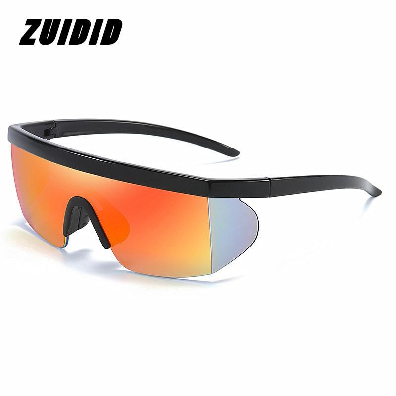 2021 Oversized Sunglasses Men Sport Glasses Men/Women for Polarized Cycling