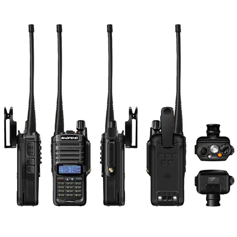 2019 NEW High Power Upgrade Baofeng UV-9R plus Waterproof walkie talkie 10w for two way radio long range 10km 4800mah uv 9r plus enlarge