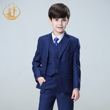 Nimble Blue Boys Suits for Weddings Kids Blazer Suit for Boy Costume Enfant Garcon Mariage Garcon Bl