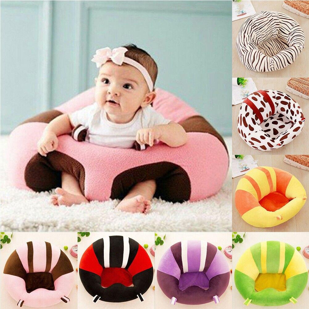 Infant Kleinkind Baby Kinder Unterstützung Sitz Sitzen Weichen Stuhl Kissen Sofa Plüsch Kissen Spielzeug Sitzsack Tier Sofa Sitz abdeckung