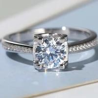 bull head ring female ring wedding ring moissanite ring d color fl clarity moissanite ring female ring
