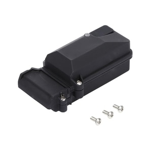 1PCS Plastic Waterproof RC Car Radio Device Receiver Box For 1/10 Axial SCX10 90046 D90 Traxxax TRX-4 RC Crawler Car