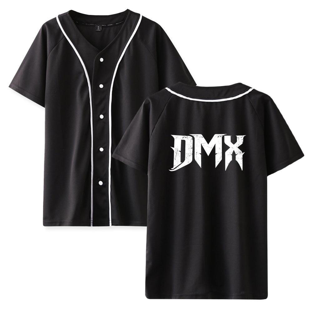 DMX Baseball T shirt Short Sleeve  Dark Man X Tees Women/Men Summer Modis Clothes Earl Simmons