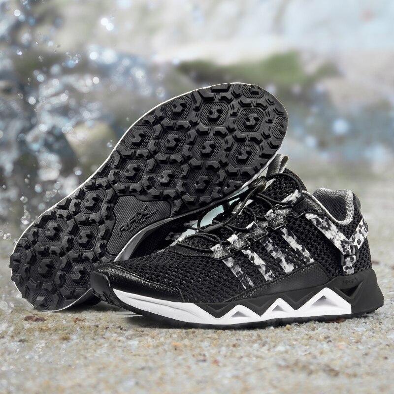 Rax-أحذية مائية للربيع والصيف للرجال ، أحذية خفيفة الوزن ومسامية للمشي والمشي والرحلات والمشي والخارج