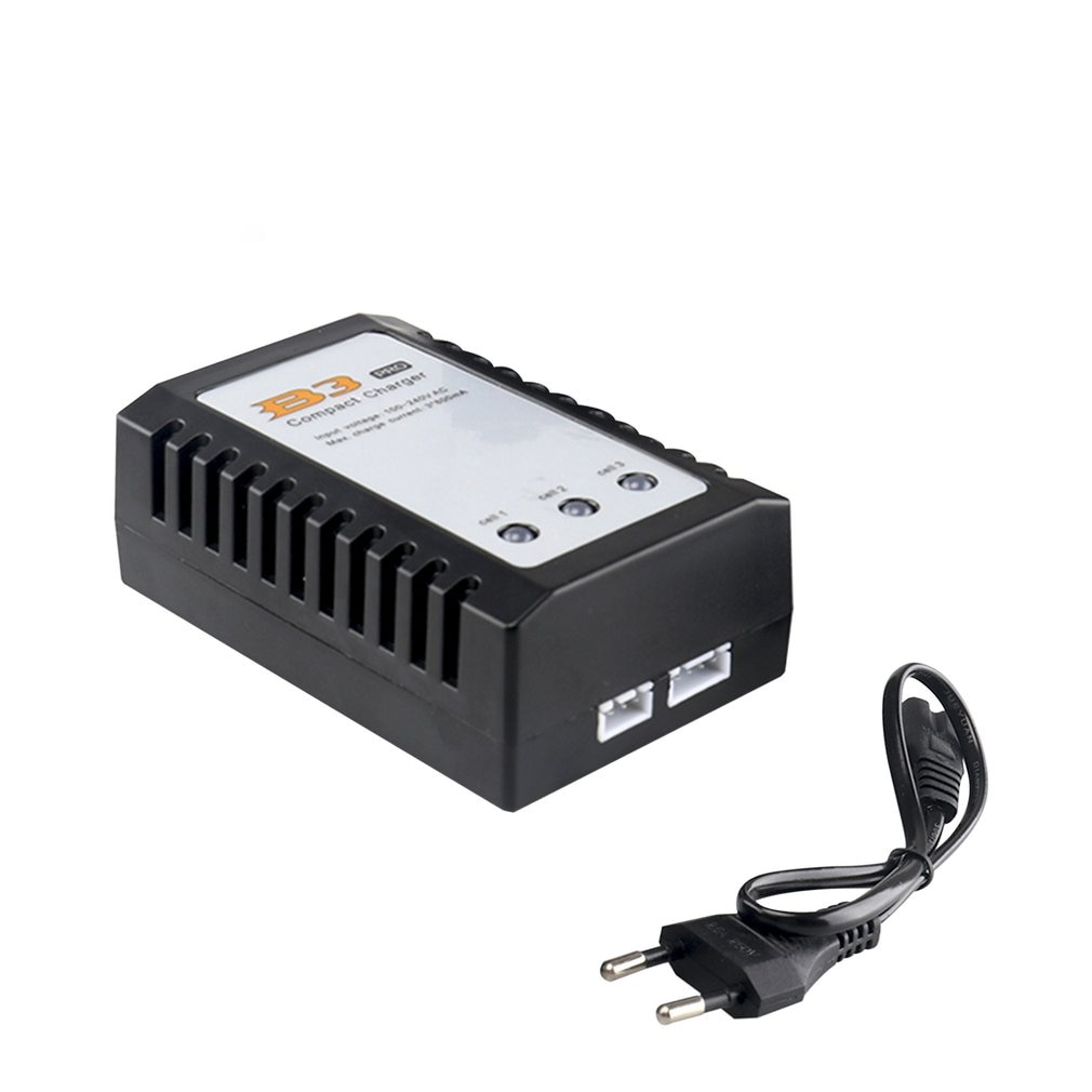 vho rc lipo battery 7 4v 6000mah 40c 4pcs 2s battery and eu charger for rc helicopter car boat quadcopter li polymer batteria B3 7.4v 11.1v 10W Li-polymer Lipo Battery Charger 2s 3s Cells For RC LiPo AEG Airsoft Battery RC Model Spare Parts