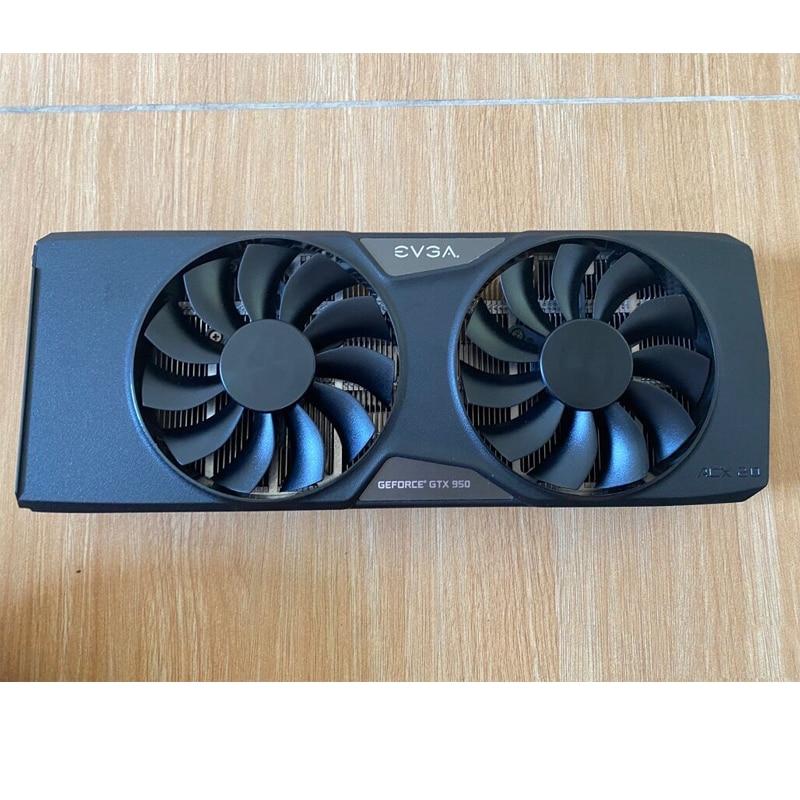 DIY Cooling GPU heat sink Used graphics card radiator For EVGA  GeForce GTX 950 ACX 2.0 4pin
