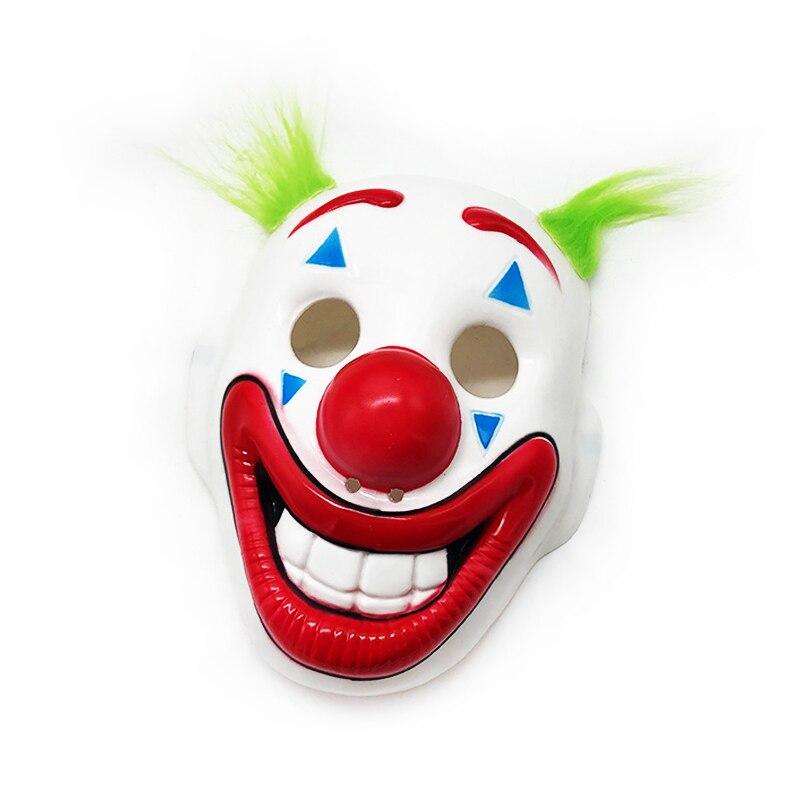 free shipping halloween children s clown costume masquerade performance clothing stage circus clown comedy costume boy cosplay Halloween Clown Mask Horror Cosplay Joker Masks Helmet Horror Clown Masquerade Halloween Party Costume Masks