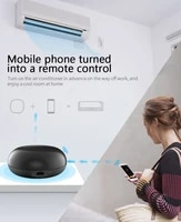 Tuya     Mini telecommande WiFi IR pour maison connectee  commutateur pour TV  climatisation  commande vocale pour Alexa Google Home