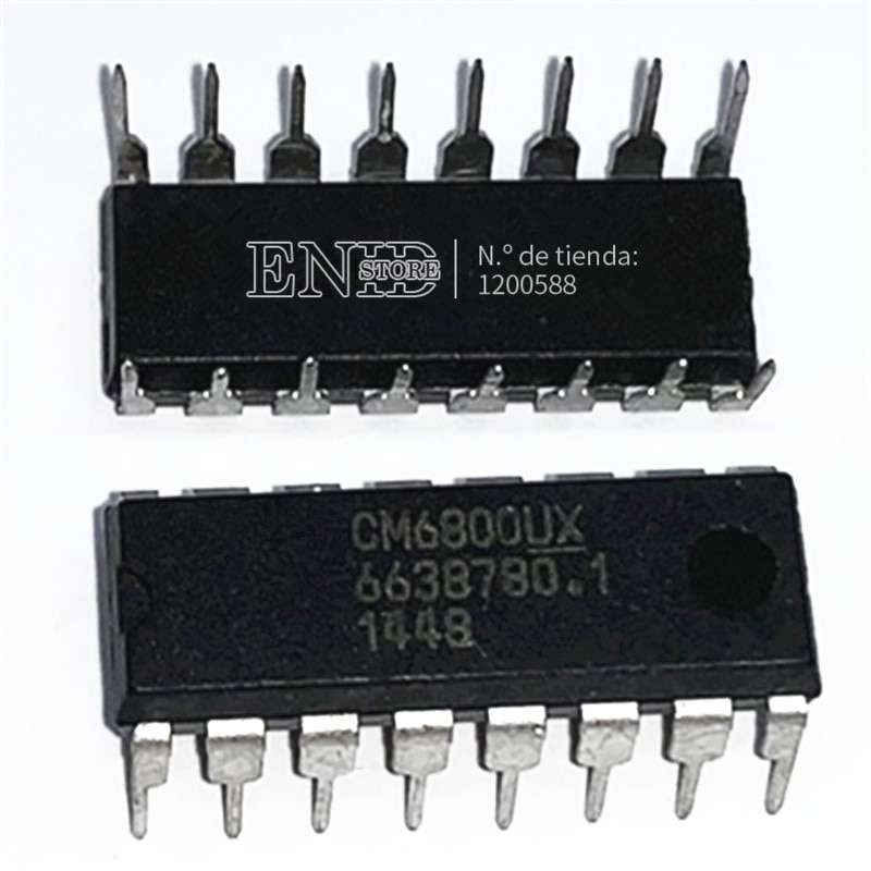 10pcs/lot CM6800UX CM6800 6800 DIP16