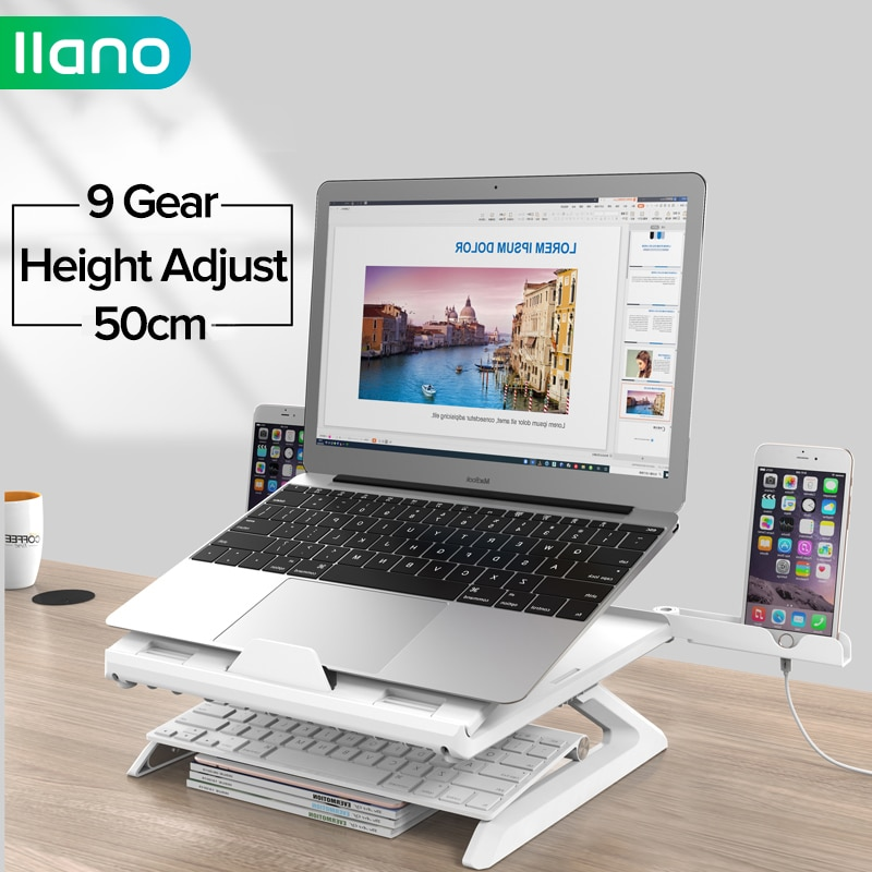 LLANO Laptop Stand For MacBook Air Pro Notebook Support PC Portable Tablet Stand Phone Bracket Lapto