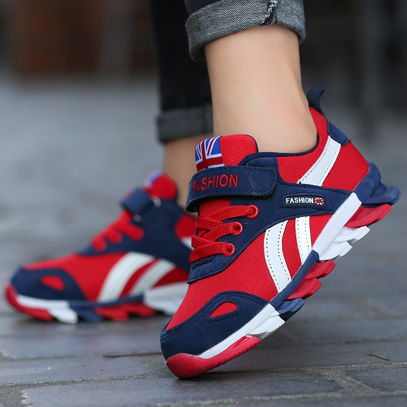 Autumn Children Fashion Sports Shoes High Quality Outdoor Sneakers Boys Girls Leisure Trainers Running Shoes Kids Casual Sneaker