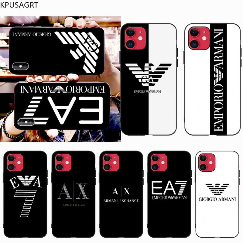 Funda de lujo italiana USAKPGRT para iphone 12 pro max 11 pro XS MAX 8 7 6S Plus X 5S SE 2020 XR