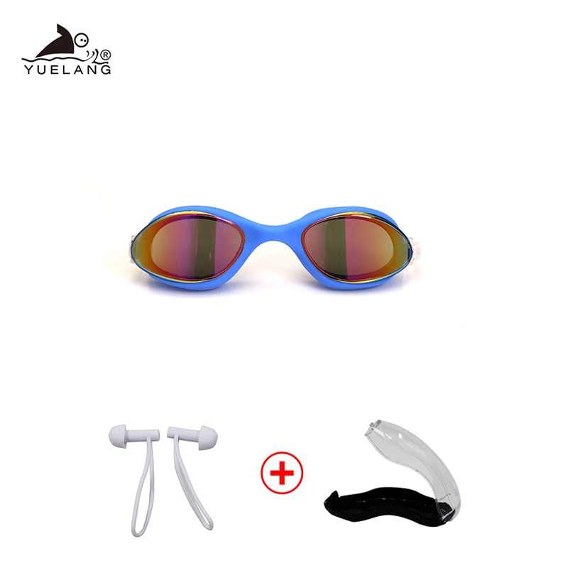 Swimming Goggles Silicone Lens Myopia Prescription Professional Waterproof Adult Men And Women Diopter Optical Swimming Glasses diopter sports myopia swimming goggles anti fog swimming glasses set clear lens optical men women prescription eyewear