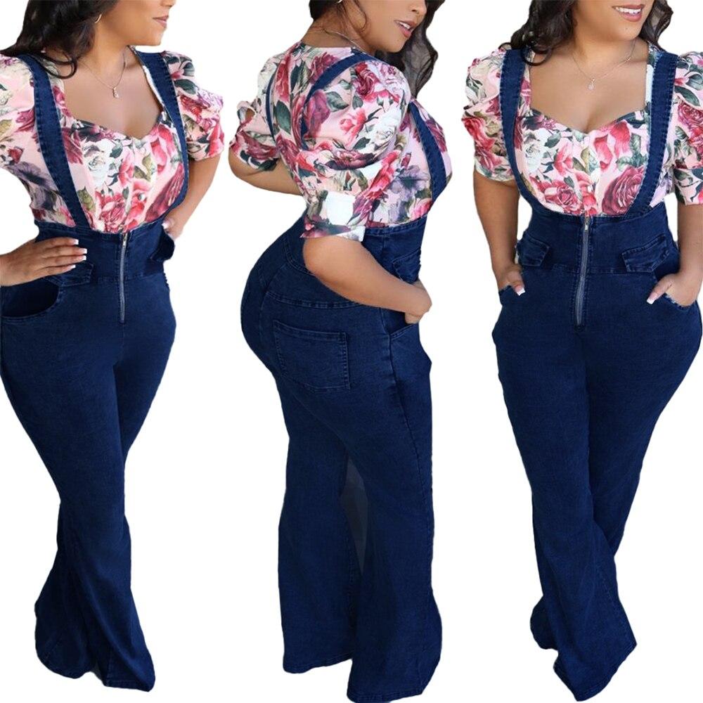 Джинсовый комбинезон, женский комбинезон, подтяжки, широкие брюки, комбинезон, комбинезон, женский комбинезон, джинсовые комбинезоны на мол...