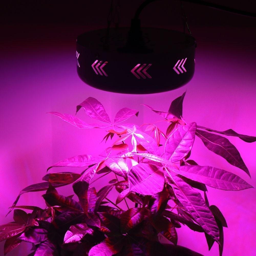UFO 150W Full Spectrum LED Grow light LED Lamp UV IR Grow Tent Lighting For Flowering Plant and Hydroponics Grow box enlarge
