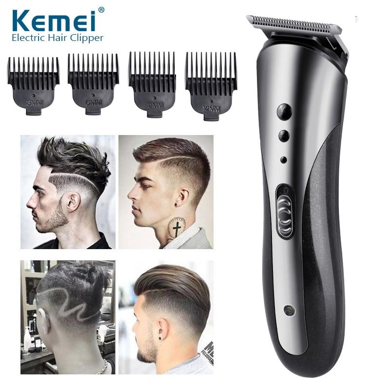 Kemei barber hair clipper professional hair trimmer for men electric beard cutter hair cutting machine hair cut cordless corded enlarge