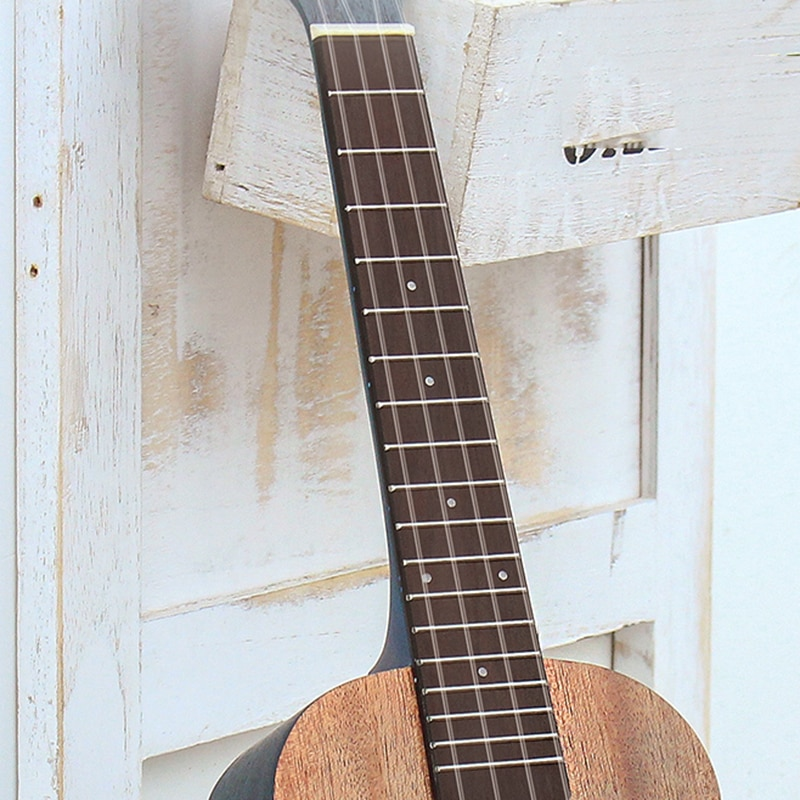 Color Ukulele Solid Mahogany Soprano Barato 4 String Small Guitar 26 Inch Accessorie Set Perform Guitarra Entertainment ZZ50YL enlarge